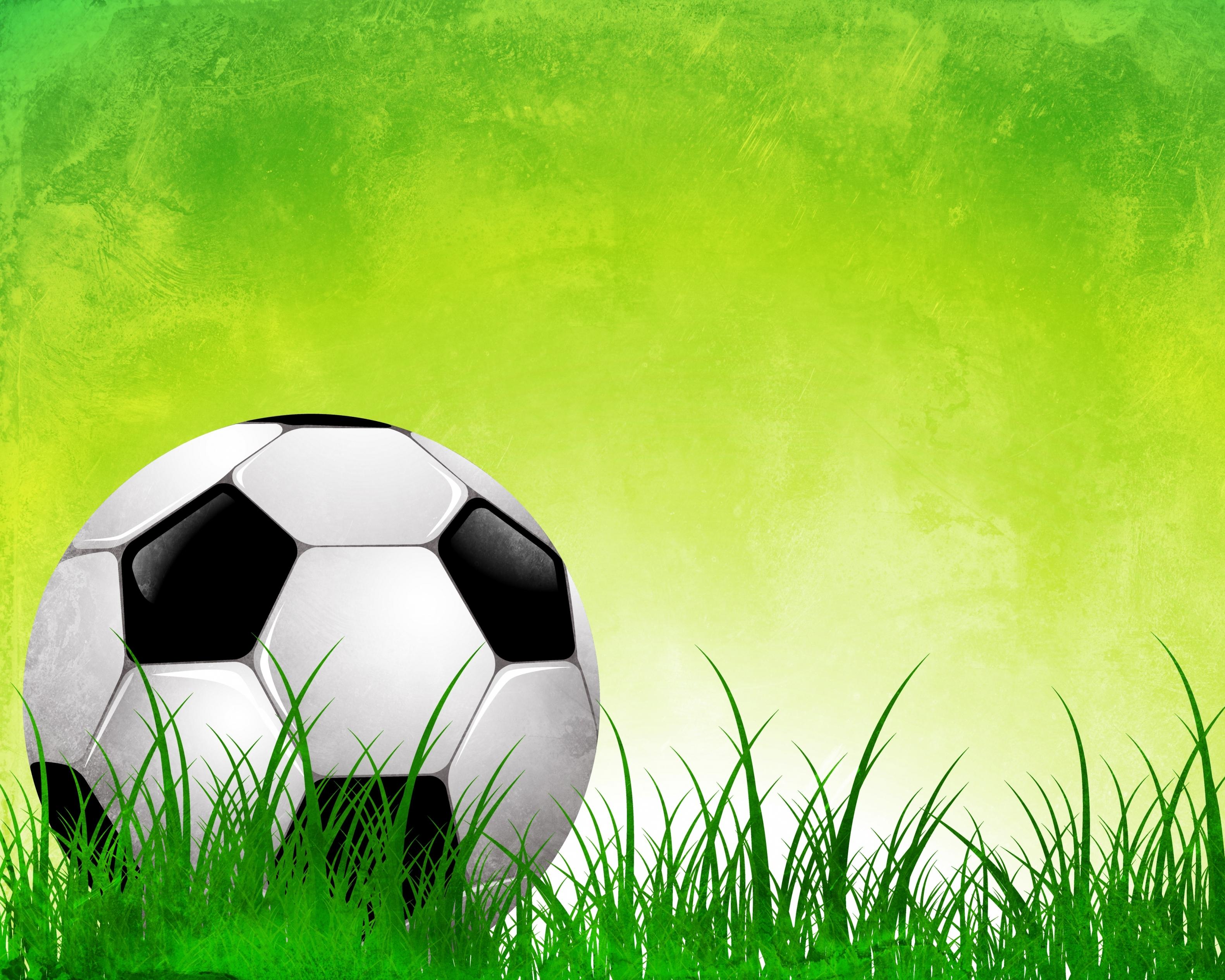 Рисунок о футболе для детей